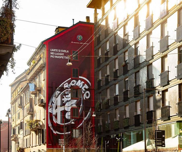 Alfa Romeo Street Art